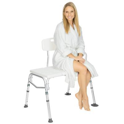 Vive Tub Transfer Bench Bath & Shower Transfer Bench Adjustable Handicap