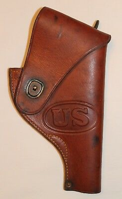 Original Post WWII US .38 Holster vietnam Army USAF