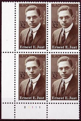 (97) 1996 USA Mi. Nr. 2691 ** postfrischer VB  Ernest E. Just