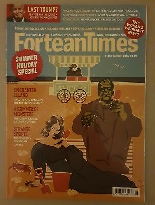 Fortean Times FT343 August 2016 - Summer Holiday Special; Enchanted Island