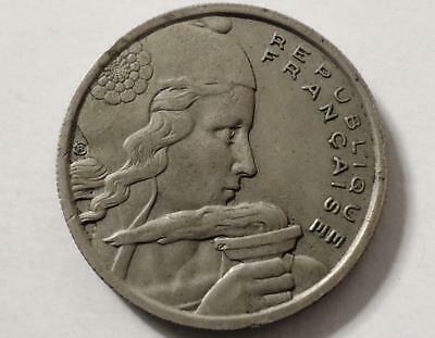 1955 France 100 Francs,  0.99 Cents Auction & Free Shipping