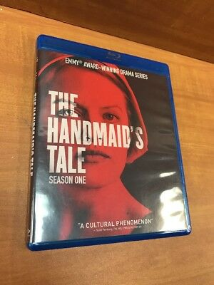 The Handmaids Tale: Season One (Blu-ray Disc, 2018, 3-Disc Set)