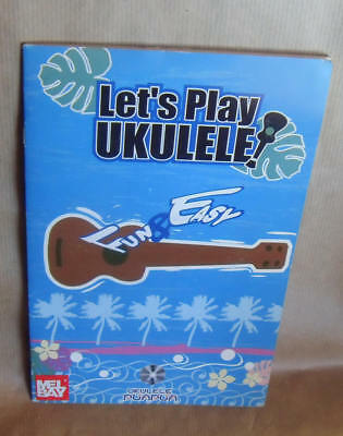LET'S PLAY  UKULELE  METHODE UKULELE en Anglais avec CD