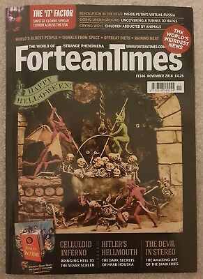 Fortean Times FT346 November 2016 - Happy Hell-o-we'en; Celluloid Inferno