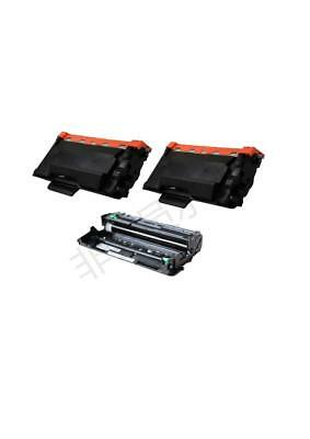 2PK TN850 TONER +1PK DR820 For BROTHER DCP-L5500DN DCP-L5600DN DCP-L5650DN