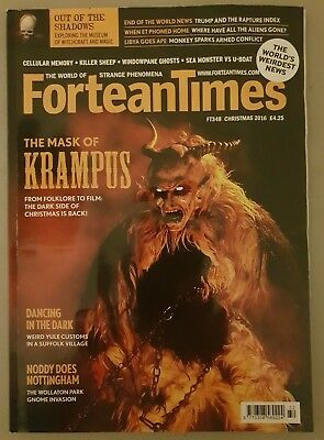 Fortean Times FT348 Christmas 2016 - Mask of Krampus; Dancing in the Dark