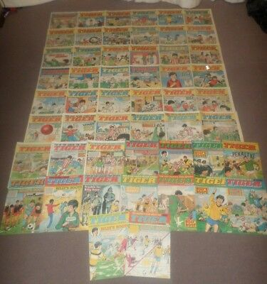 52 x 1984 TIGER COMICS - Complete Year - VGC