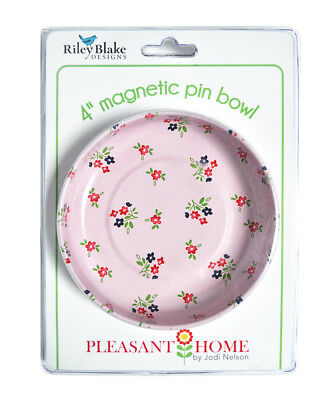 Magnetic Sewing Pin Bowl Floral