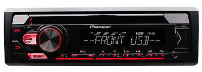 Pioneer DEH-S1100UB 1-DIN Car Stereo CD MP3 USB AUX Player In-Dash Receiver