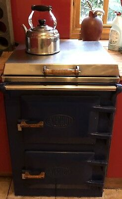 Everhot Cooker 60 Electric Range In Working Order Used Blue