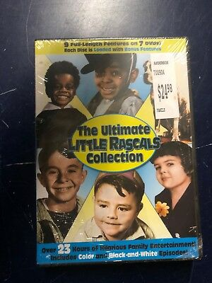 The Ultimate Little Rascals Collection (DVD, 2015, 7-Disc Set) (2f)