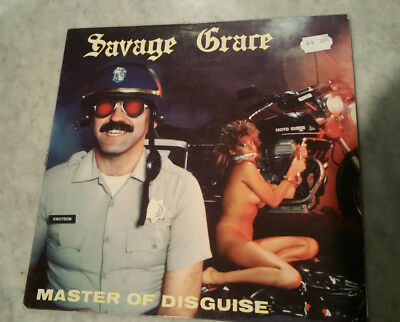 Savage Grace - Master Of Disguise - vinyl - RARE - Metal - original LP von 1985