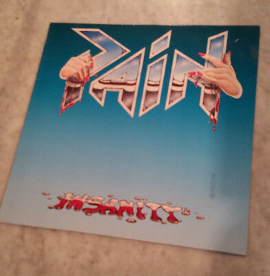 PAIN - Insanity - original LP von 1986