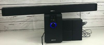 Sharper Image 51 Home Theater System Wsubwoofersound Bar