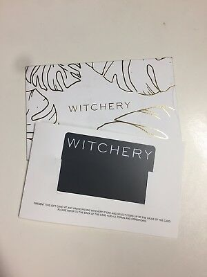 Witchery Gift Card $160