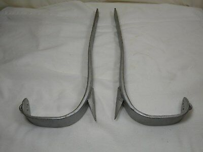 "Buckingham Climbing Spikes Left & Right, F 4-90, 13-3/4"", No Straps"