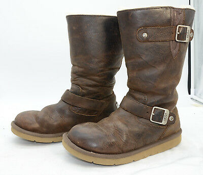 54f53589a8c UGG AUSTRALIA WOMEN'S Kensington #5678 Sheepskin Leather Winter Boots Sz 7
