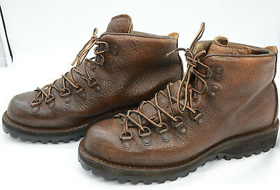 Vtg Danner USA Mens Sz 7.5 Leather Outdoors Heavy Duty Hunting Work Boots