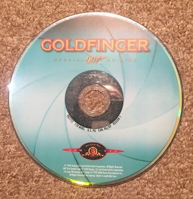 Goldfinger (DVD ONLY, 1999) Sean Connery - Ships No Tracking