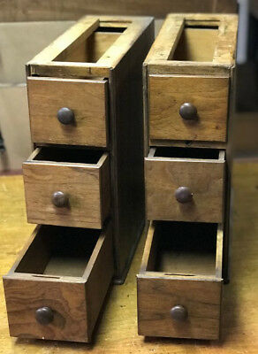 Vintage Antique Singer Sewing Machine Drawers