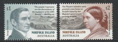 Norfolk Island 2019 : Pitcairn Settlement. Design Set. Mint Never Hinged