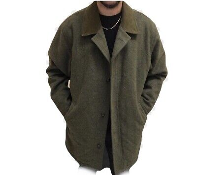 TRENCH BURBERRYS CAPPOTTO UOMO MADE IN ENGLAND TG.56 Coat Man ... fc143498f2f