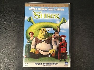 Shrek (Two-Disc Special Edition) DVD 2001 - BRAND NEW - FREE SHIPPING!