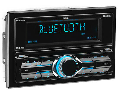 SOUNDSTORM Double 2 DIN Bluetooth MP3/CD/AM/FM/USB/SD Player In-Dash Car Stereo