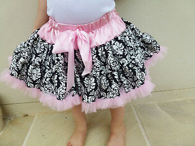 Girl's Tutu Dancing Skirt Pettiskirts. Pink Sizes from 1-3 year old!Xmas