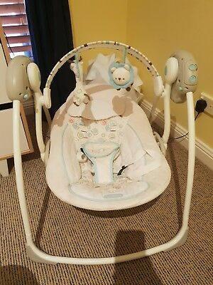Bright Starts Comfort And Harmony Baby Recliner Swing