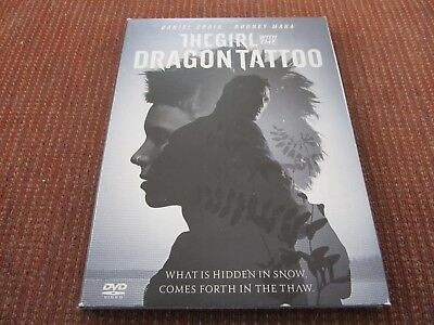 The Girl With the Dragon Tattoo (DVD, 2012) Disc in Excellent Condition