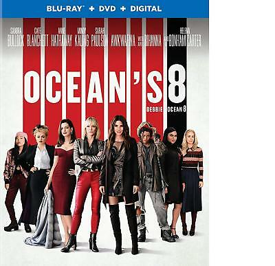 Ocean's 8 [Blu-Ray + DVD + Digital] - Bilingual  New (STEF-151 / STEFG-011)