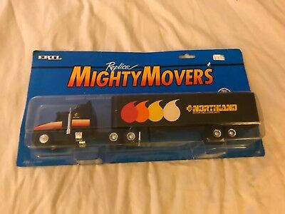 Ertl Replicas Mighty Movers Kenworth T600A With Van Trailer NIP 1/32 Scale
