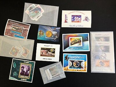 British Comm and other countries mnh stamp sheets - SPACE - #3