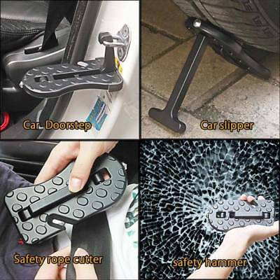 5 IN 1 Car Doorstep Roof Ladder Foot Stand Door Latch Step Rooftop Pedal Safe
