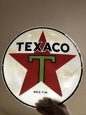 Original Texaco Black T Globe Lens (Capco)