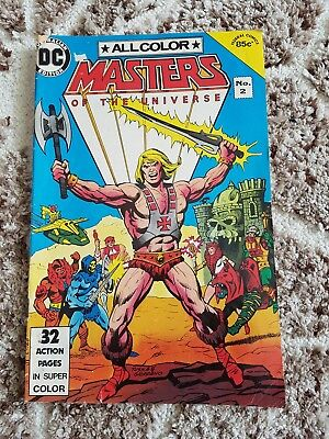 Masters Of The Universe No. 2 Old Vintage 1984 DC Comic