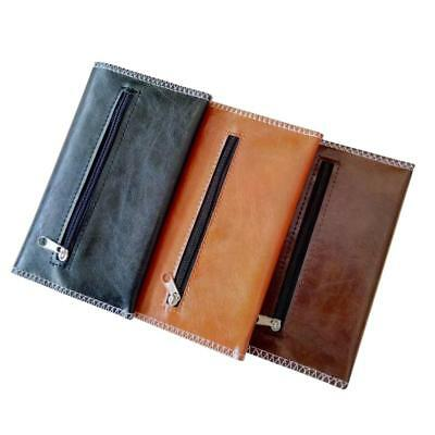 1pcs PU Leather Cigarette Tobacco Pouch Bag Case Roller Filter Tip Rolling Paper