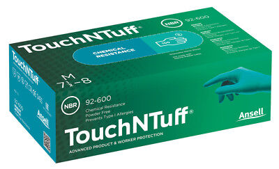 Ansell 92-600 TouchNTuff Disposable Gloves Case of 1000 Direct from Ansell