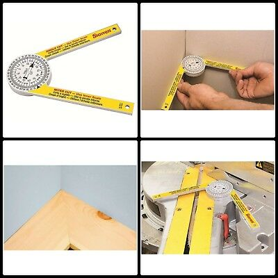 Miter Saw Protractor Accurate Measuring Tool Plumber Carpenter Woodworks Project
