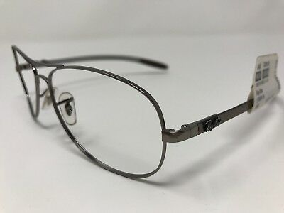 a2d028f18d Ray Ban Carbon Fiber Sunglass Frames ITALY RB8301-004 51 Brown Silver 59mm