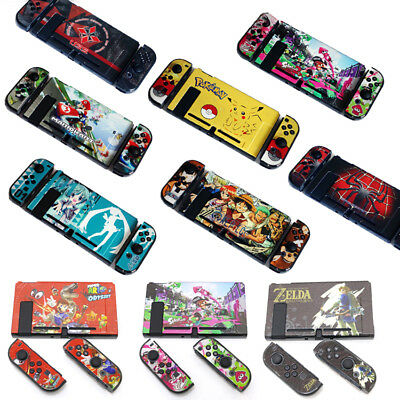 Protection Shell Hard Thin Dockable Case for Nintendo Switch Cover Zelda Pokemon