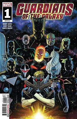 Guardians Of The Galaxy #1 Marvel Comics Near Mint 1/23/19
