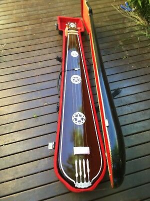 Flat Back Male Tanpura with Hard Case