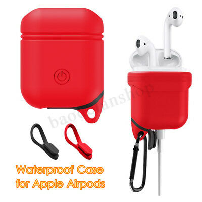 Per Apple Airpods Pelle Impermeabile Custodia Protective Case Cover Per Cuffie