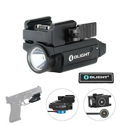 OLIGHT PL-MINI 2 600 Lumen Black/FDE Rechargeable Adjustable Rail Tactical Light