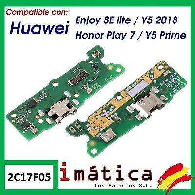 Placa Carga Para Huawei Enjoy 8E Lite / Honor Play 7 Y5 2018 Prime Usb Conector