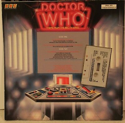 Doctor Who BBC cassette Doctor Who Theme