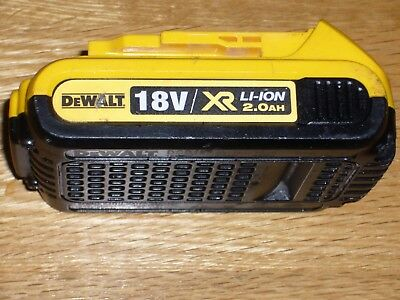 DEWALT XR DCB183 Rechargeable 18v 2.0Ah  Li-ion  Battery Pack