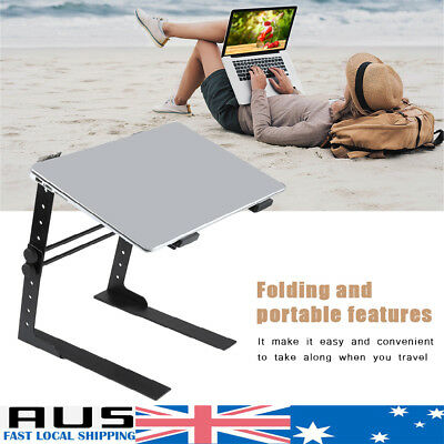 Portable Computer Laptop Stand NoteBook Holder Bracket Rack Iron Disc Player HOT